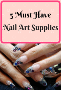 My list of 5 nail art supplies that all DIY nail artists need. Don't miss out on these beauty must-haves!
