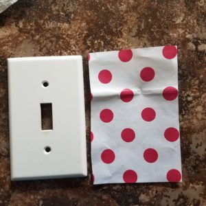 This is a quick and easy way to make a room in your home look fancy with these DIY light switch covers. Perfect way to decorate on a budget. Click to see how you can make this easy craft project yourself!