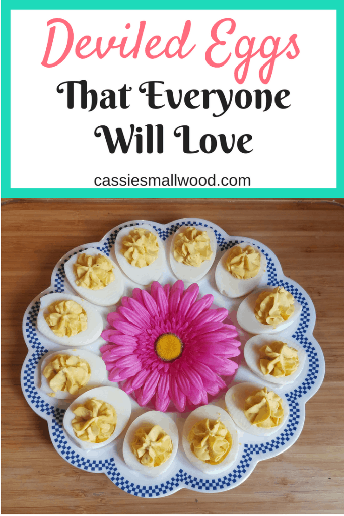 This is the best deviled egg recipe that even a deviled egg hater will love!  Tiny bits of crunch and flavor set these apart from the average deviled egg recipe.  Perfect for breakfast or a snack!  Check out the recipe on the blog!