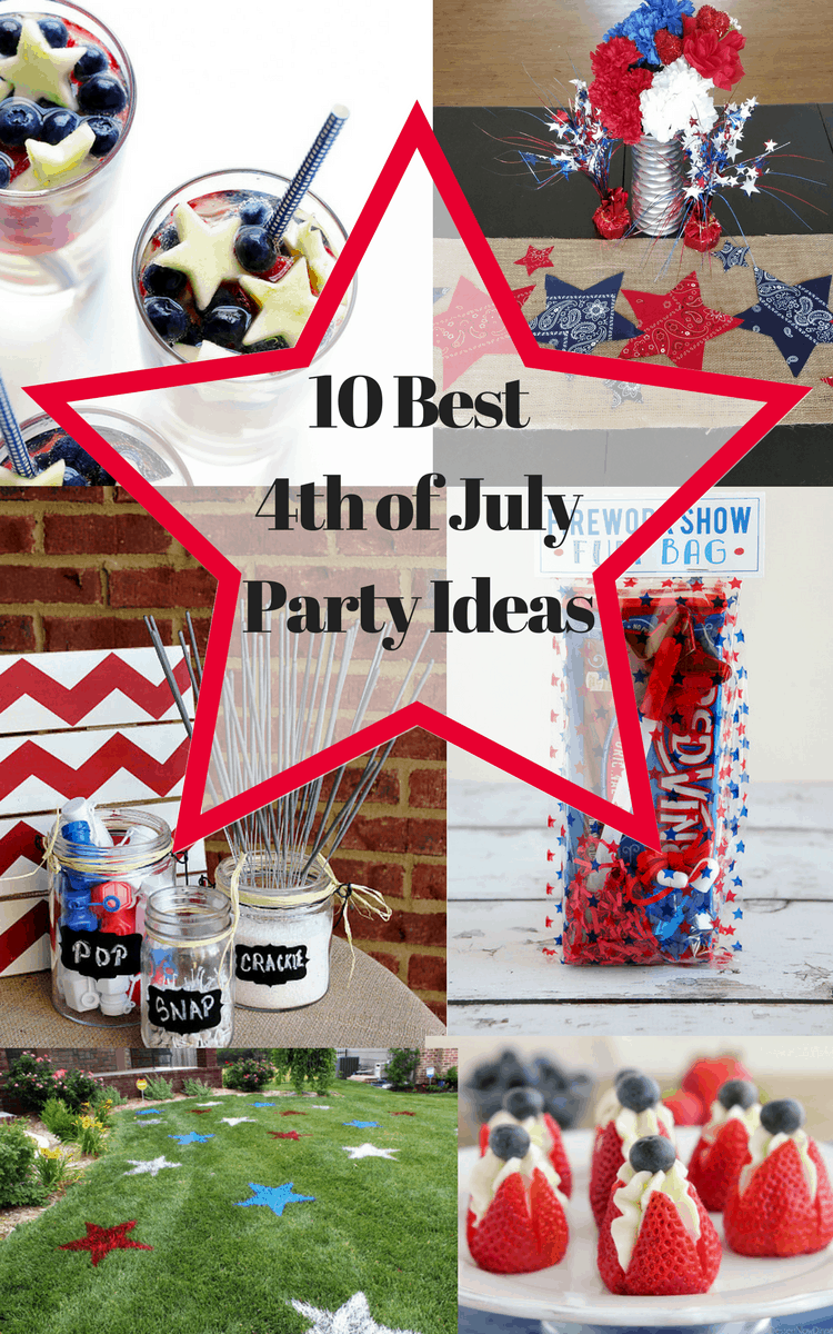 Best 4th of july party ideas diy home craft projects for 4th of july party decoration