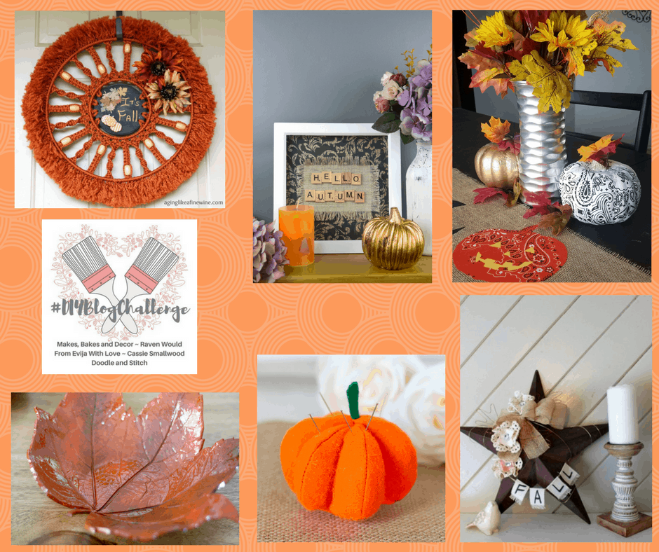 This bandana pumpkin is perfect for your fall table decor or fall mantle decor. Halloween and Thanksgiving decorations in one!