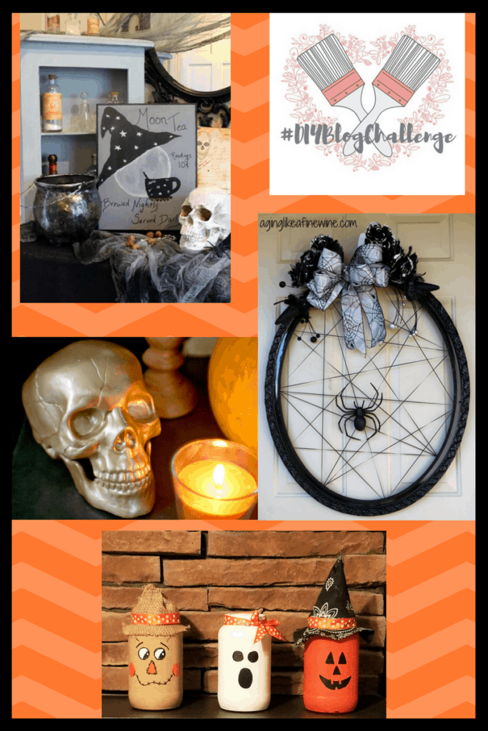 These DIY mason jar Halloween decorations are the perfect centerpiece, mantle decorations or Halloween gift! Click to see the full tutorial for these cute Halloween decorations