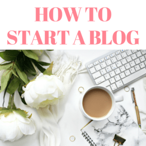 HOW TO START A BLOG QUICKLY AND EASILY
