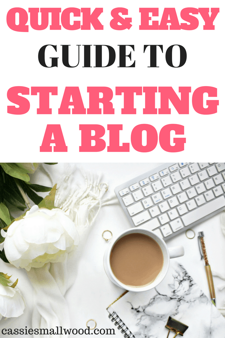 I'm so glad I found this!!! This shows you how to start a blog so easily! I thought it would be really difficult, but I was so wrong.