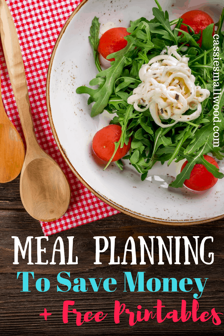 meal planning for beginners and free printable menu plan template
