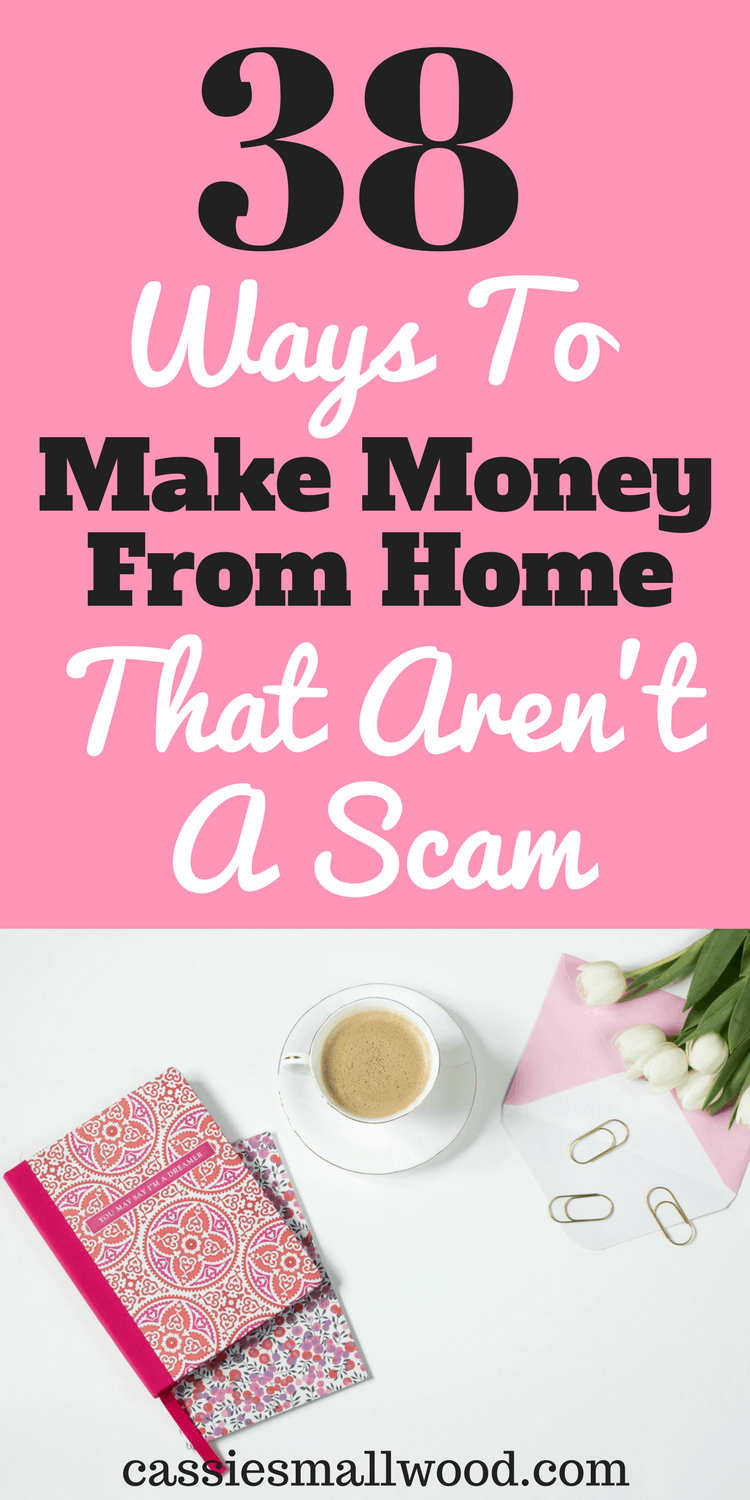 38 creative ways to make money on the side from home cassie smallwood