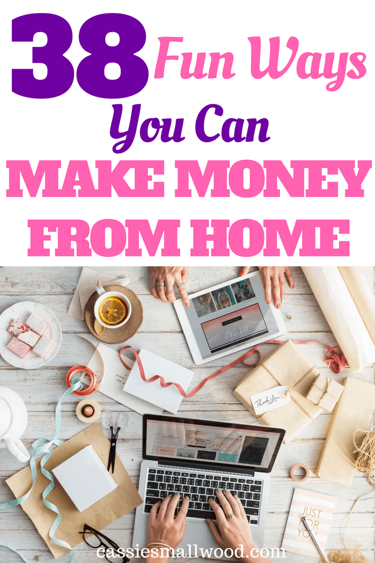 creative ways to make money on the side from home cassie smallwood