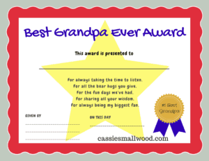 printable father s day certificates of appreciation gifts for dad