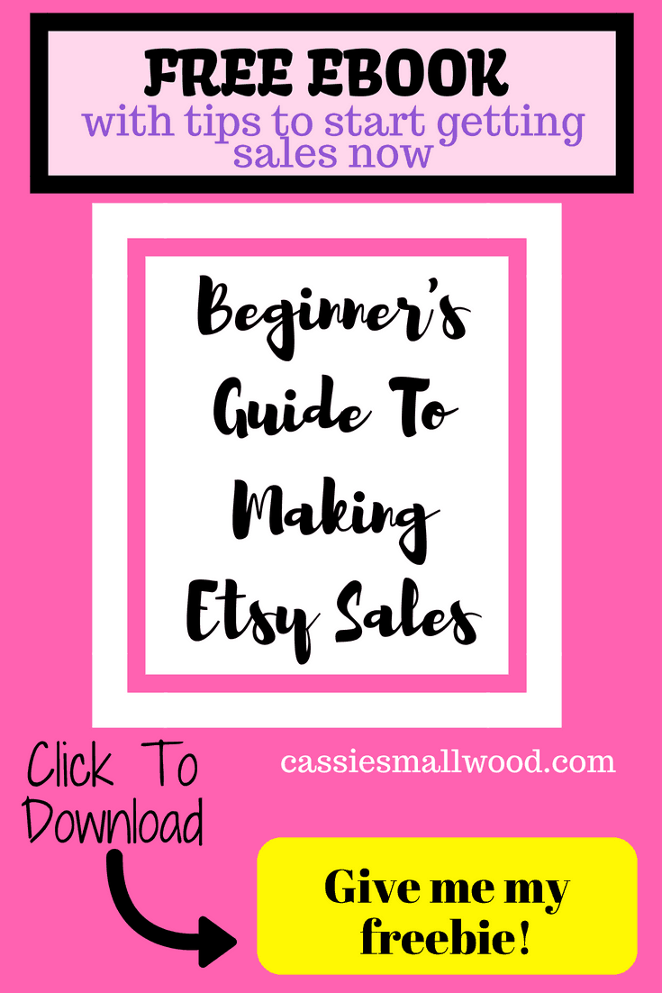 730122269cd41 How To Get More Etsy Sales For Beginners Free Ebook ~ Cassie Smallwood
