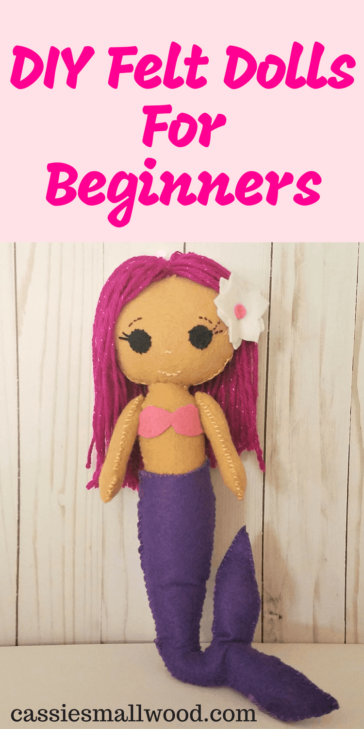 picture relating to Free Printable Felt Doll Patterns named Simple Felt Doll Routines Towards Sew For Newbies ~ Cie Smallwood