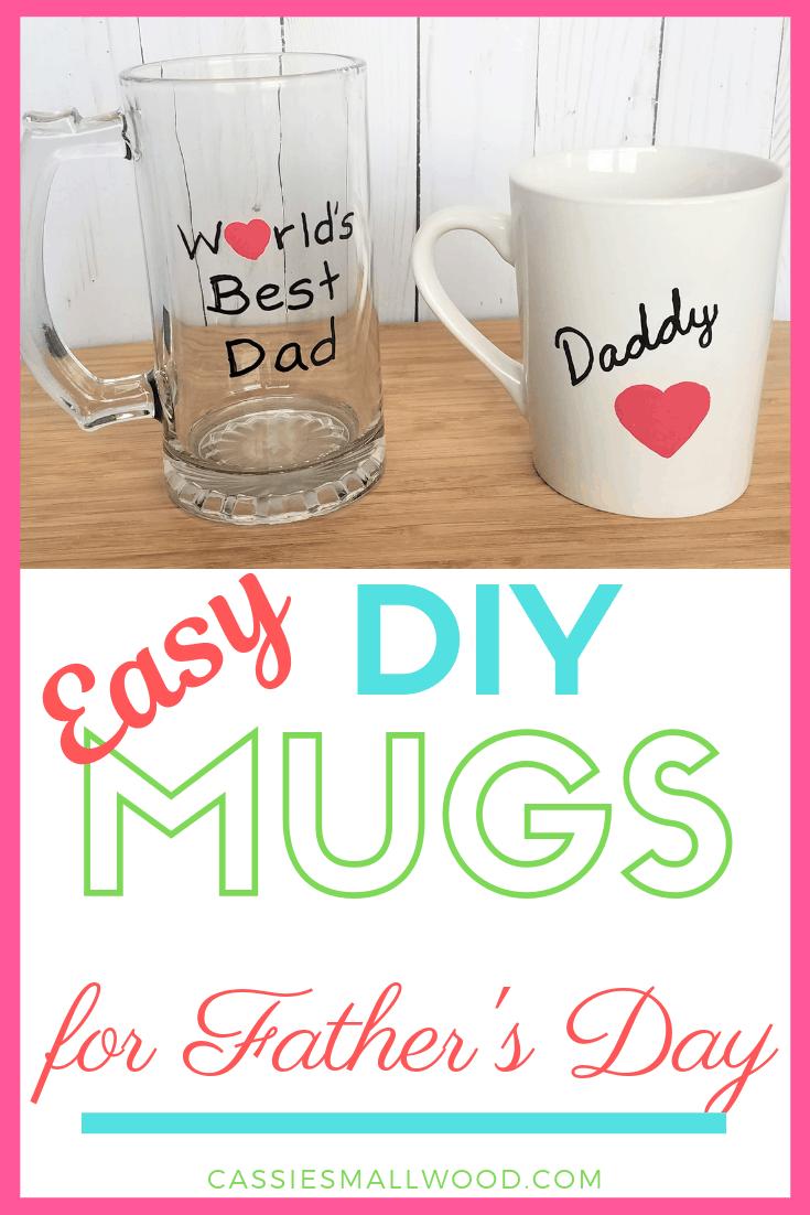 Diy Dad Sharpie Mug That Won T Wash Off Cassie Smallwood